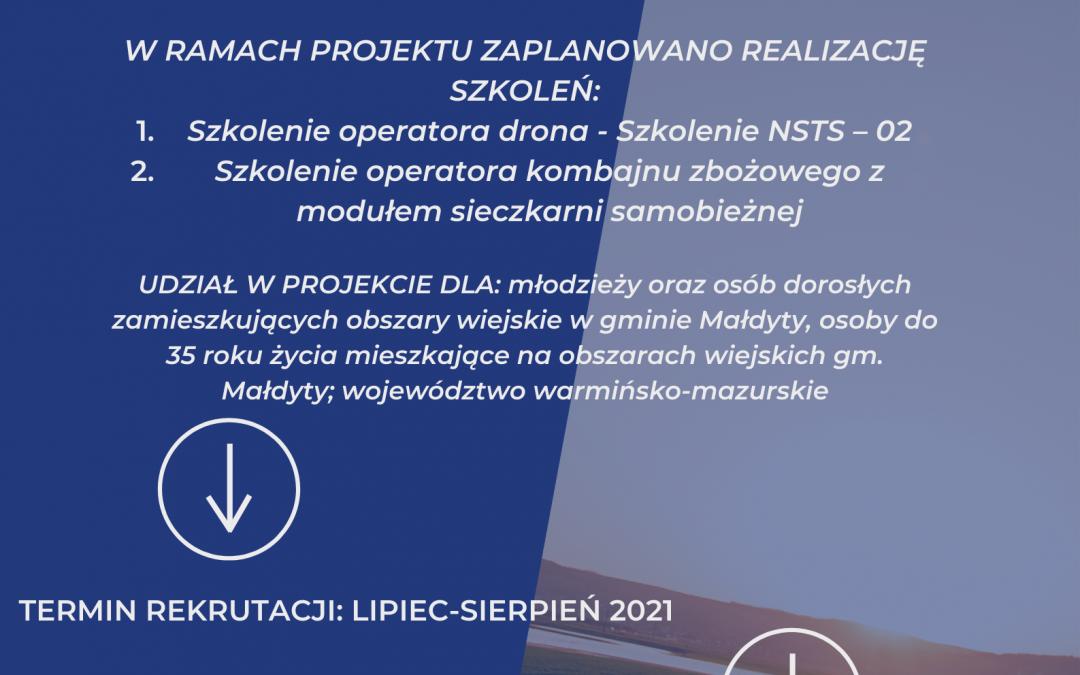 Aktywna młodzież jako potencjał rozwoju obszarów wiejskich w gminie Małdyty